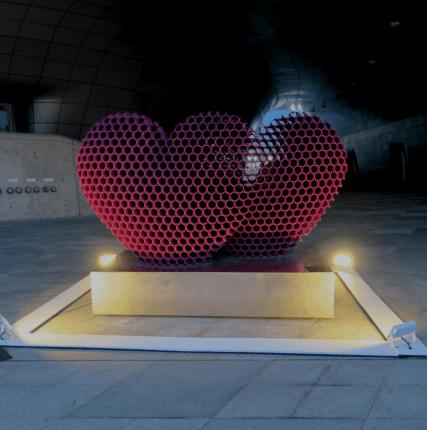 Свет, музыка и DDP в руках искусственного  интеллекта– фестиваль света в Сеуле