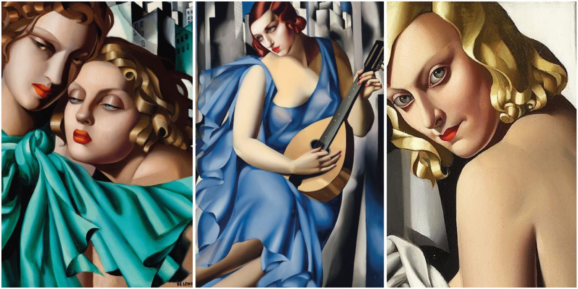 Картина Тамары Де Лемпицки продана за рекордные 16.2 млн. фунтов