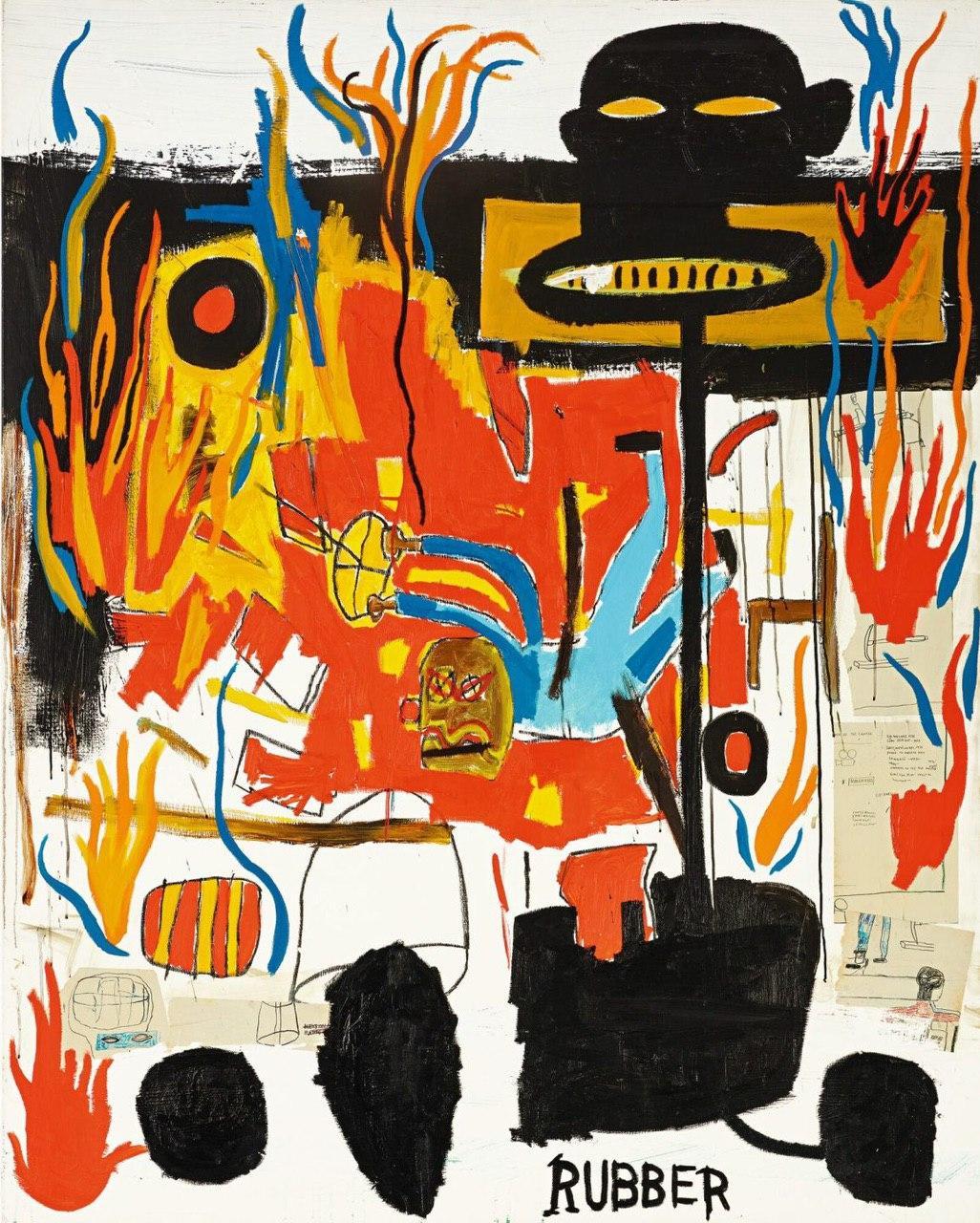 «Всплеск» Хокни продали за $30 млн , картины Бэкона и Баскии оценили в £7 млн
