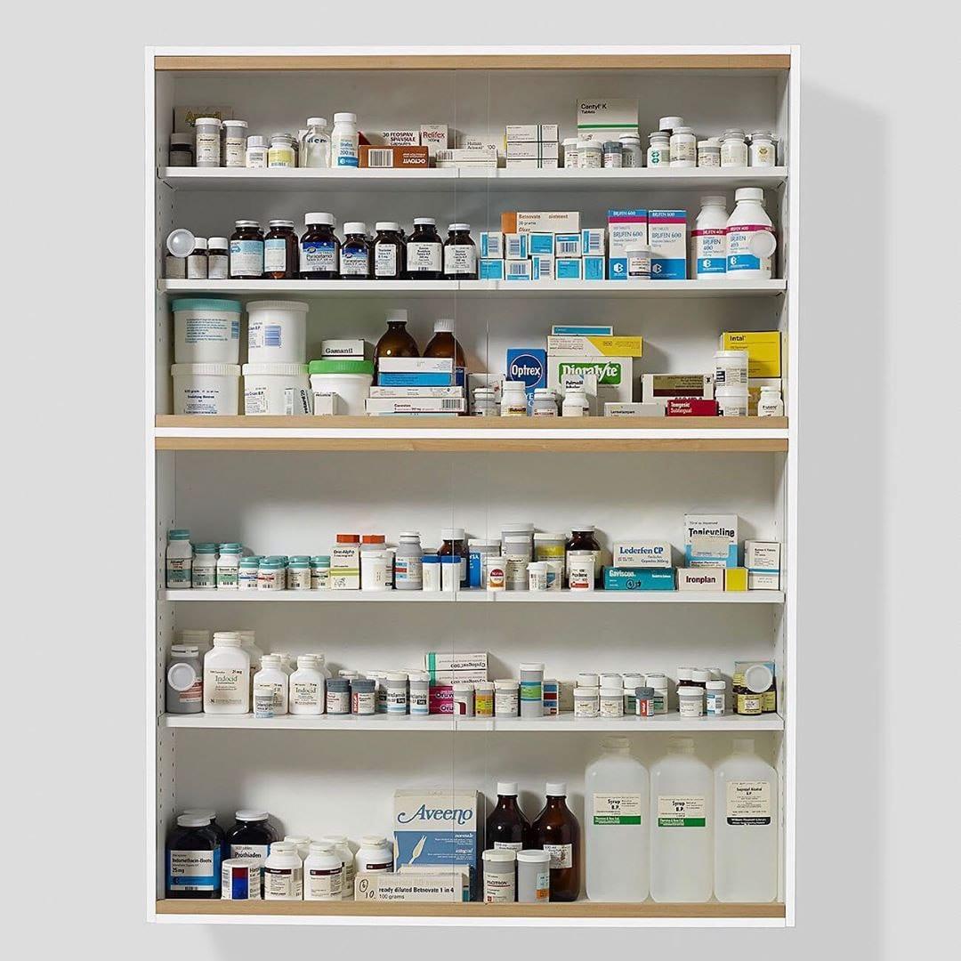 Аптечный шкафчик Херста выставлен на аукцион за 1,8 млн фунтов