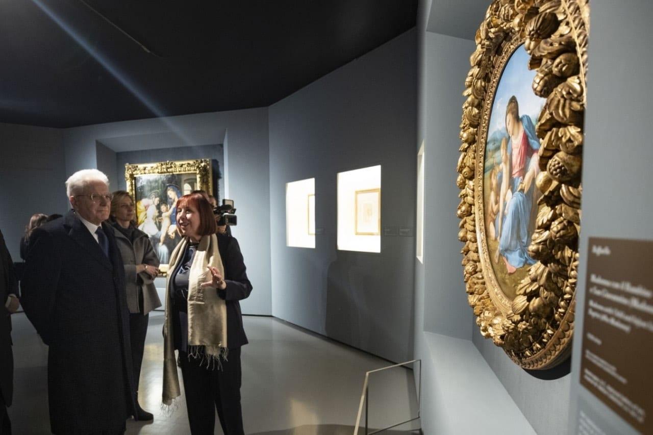 В Квиринальском дворце в Риме  открывается выставка работ Рафаэля