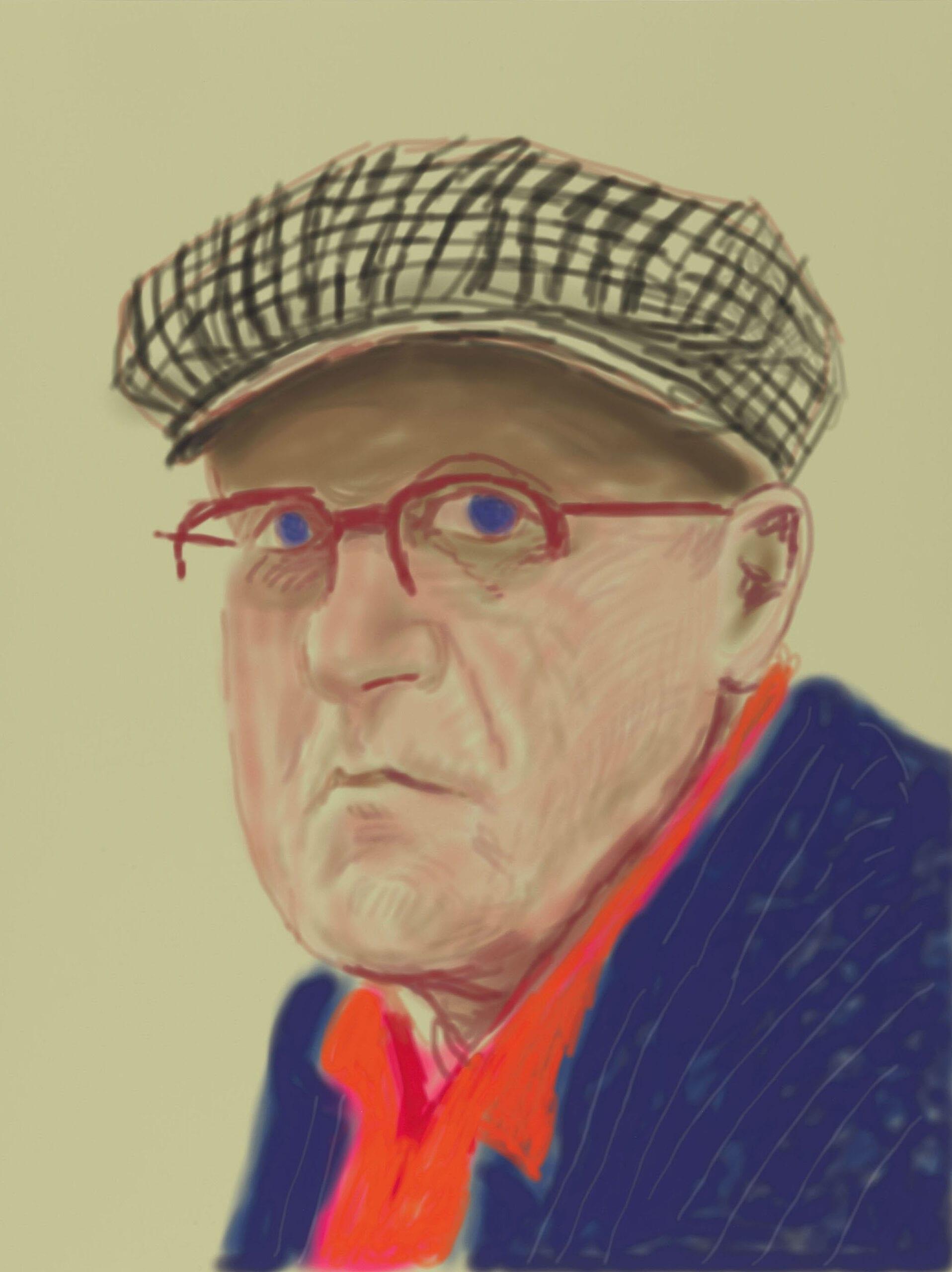 Главный портретист-бунтарь XXI века Дэвид Хокни на выставке в Лондоне