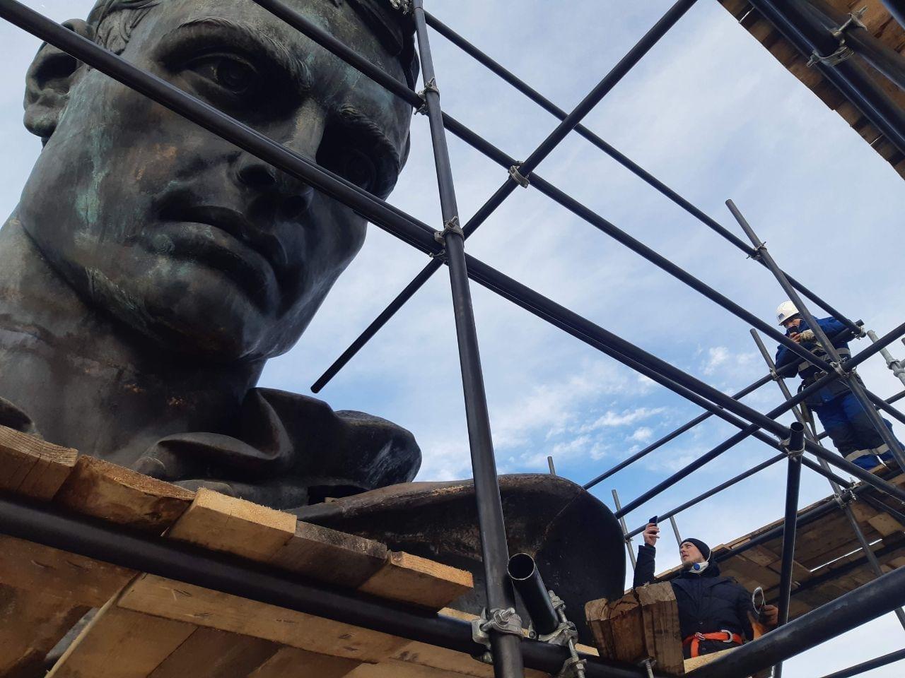 Скульптор Валерия Малышева о работе над Ржевским мемориалом Советскому солдату