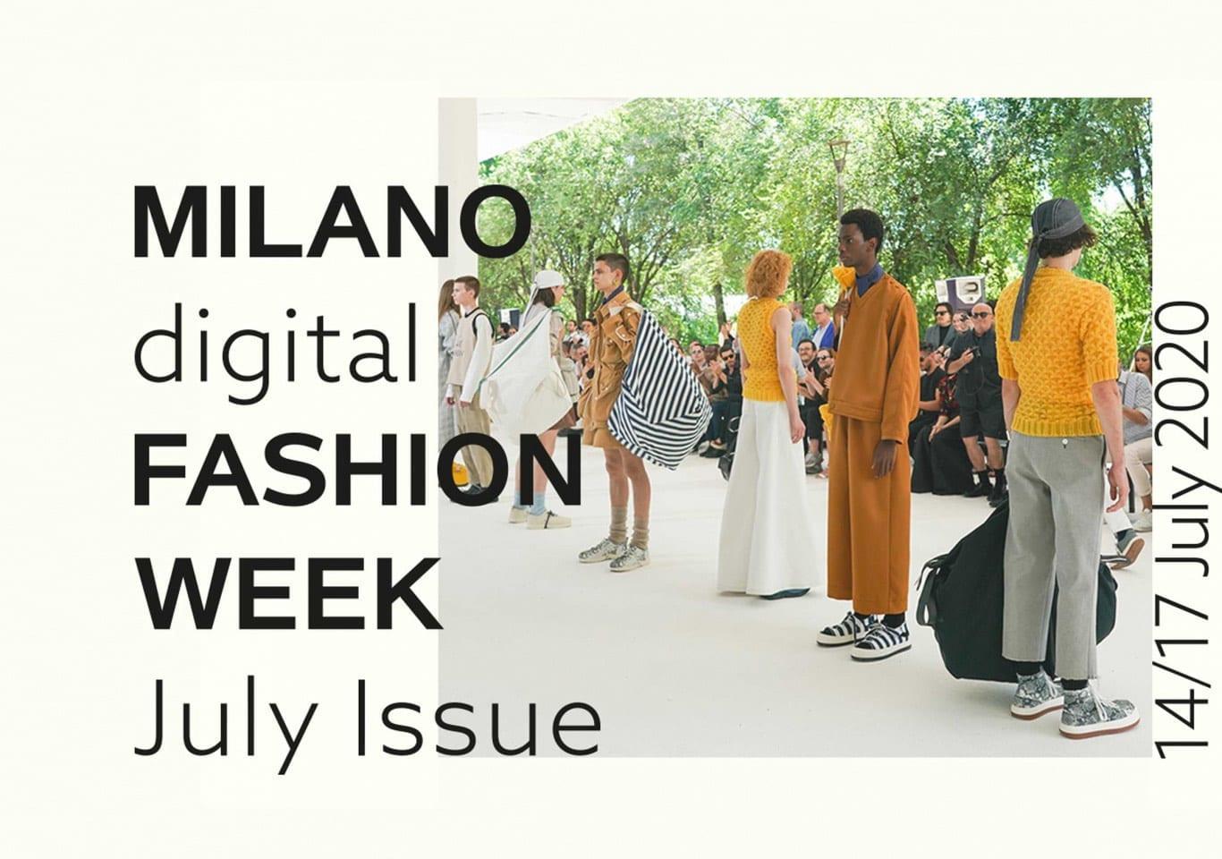 Неделя моды в Милане пройдет в июле в онлайн формате
