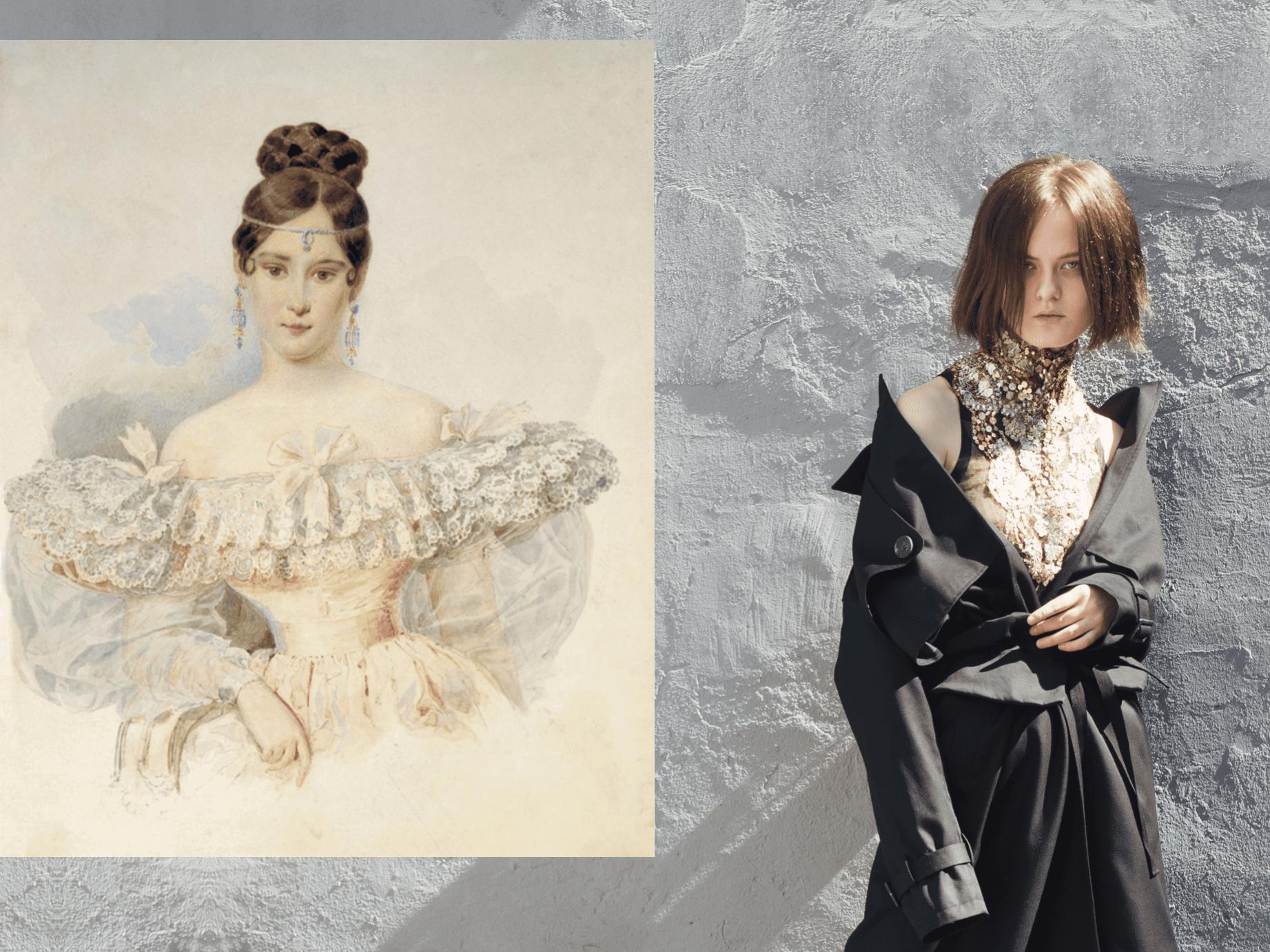 Историк моды Марина Скульская о грядущем тренде на образы пушкинской эпохи