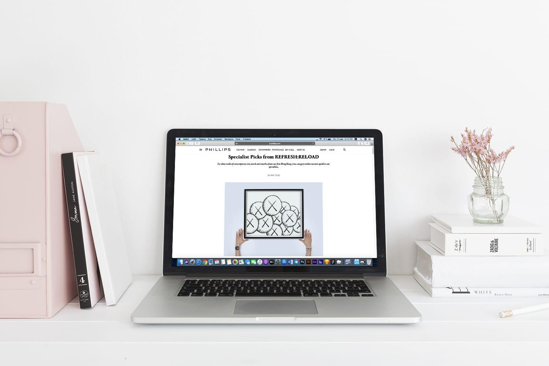 Аукционный дом Phillips проведёт смешанные онлайн-торги