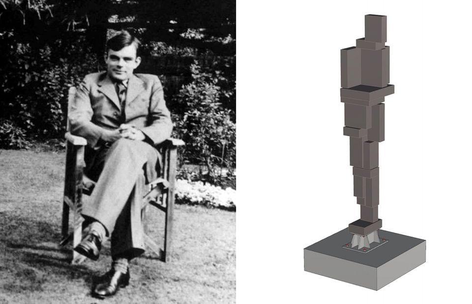 istoric England выступили против проекта скульптуры Алану Тьюрингу