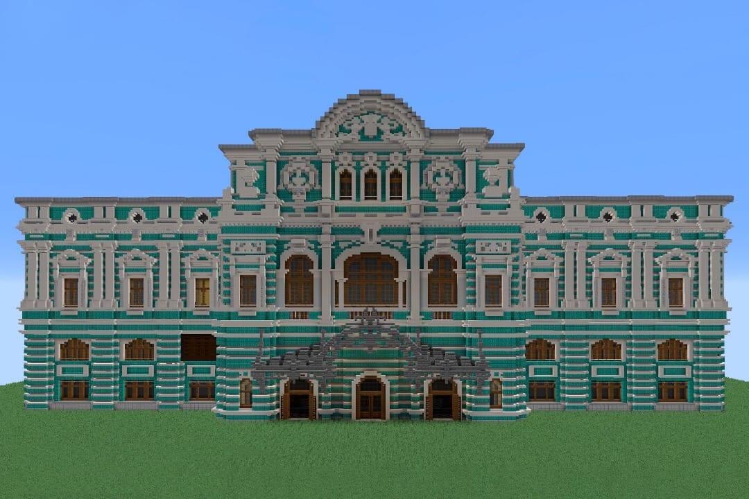 БДТ покажет «Вишневый сад» в Minecraft