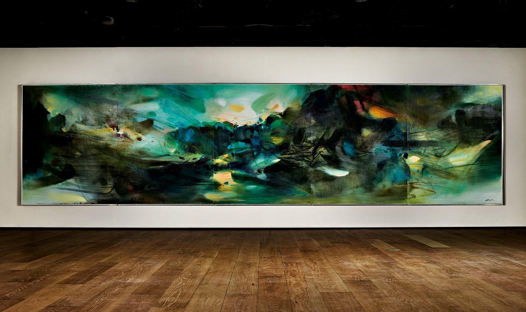 Работы азиатских художников бьют рекорды нагонконгских аукционах