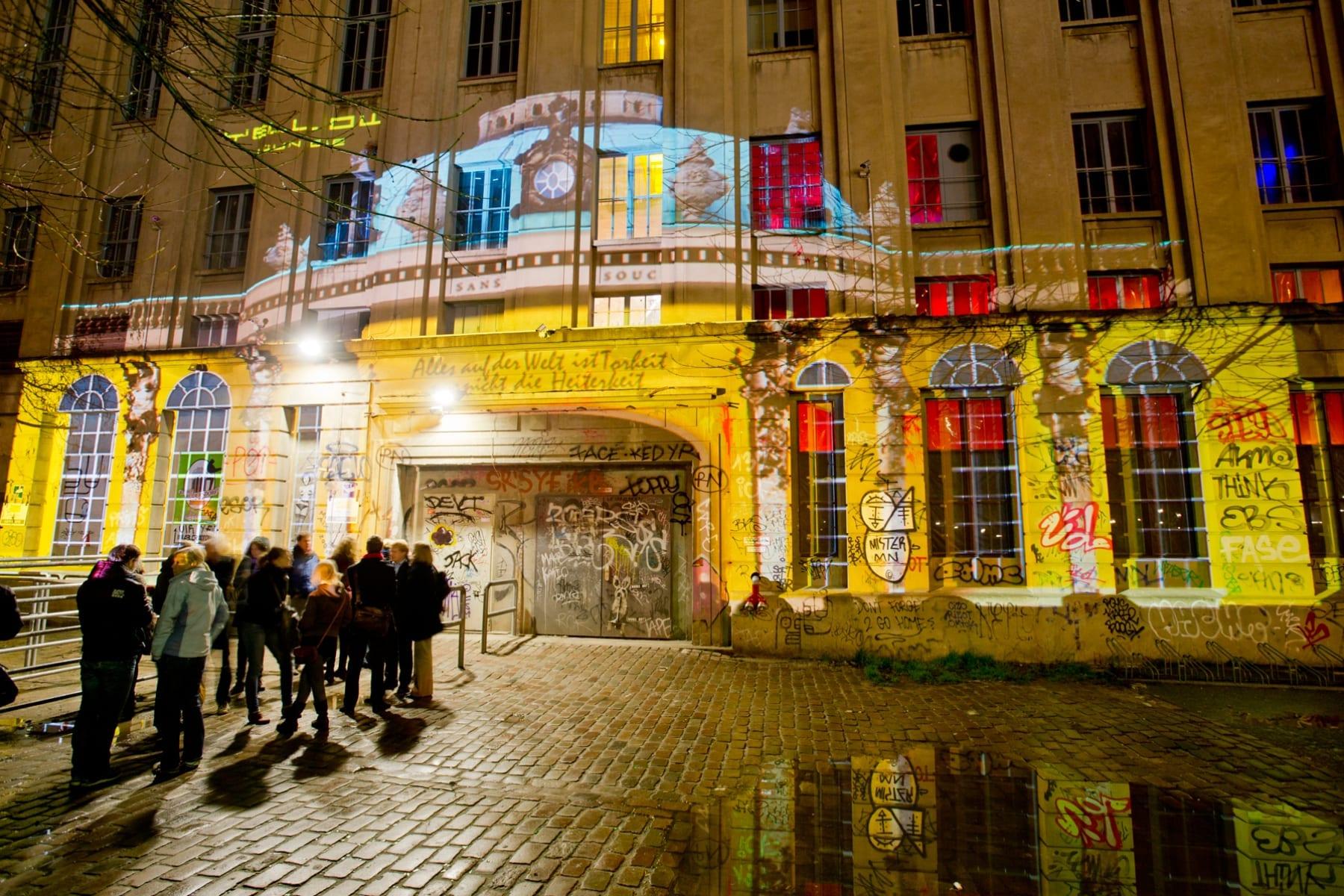 Вберлинском ночном клубе Berghain пройдет выставка современного искусства