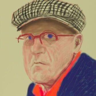 Дэвид Хокни: «Рисунки с натуры» class=