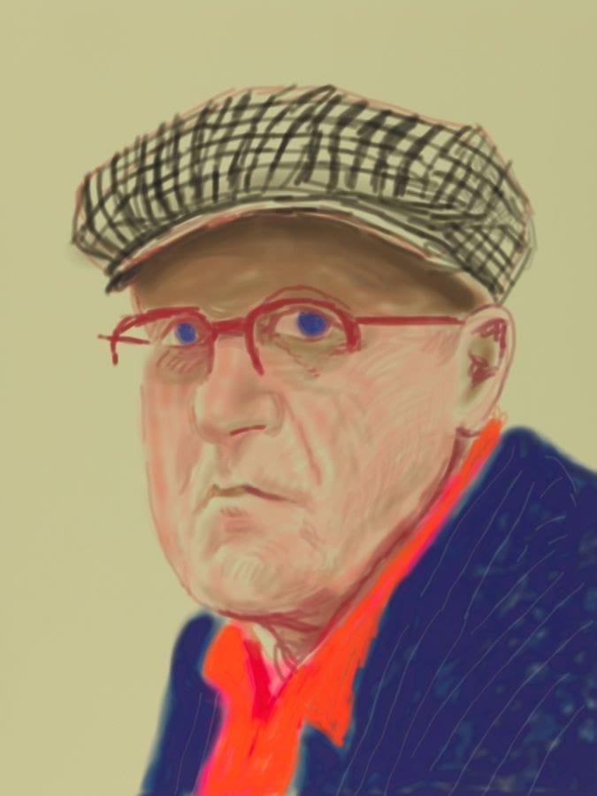 Дэвид Хокни: «Рисунки с натуры»