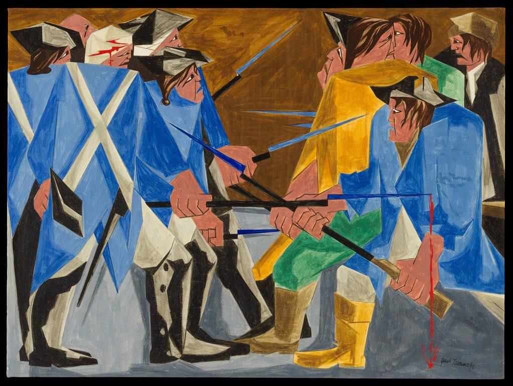 Найдена картина Джейкоба Лоуренса, пропавшая в1960 году