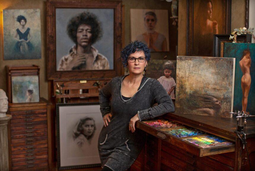 Джулианн Джонкер: «Реализм в энкаустической живописи встречался очень редко»