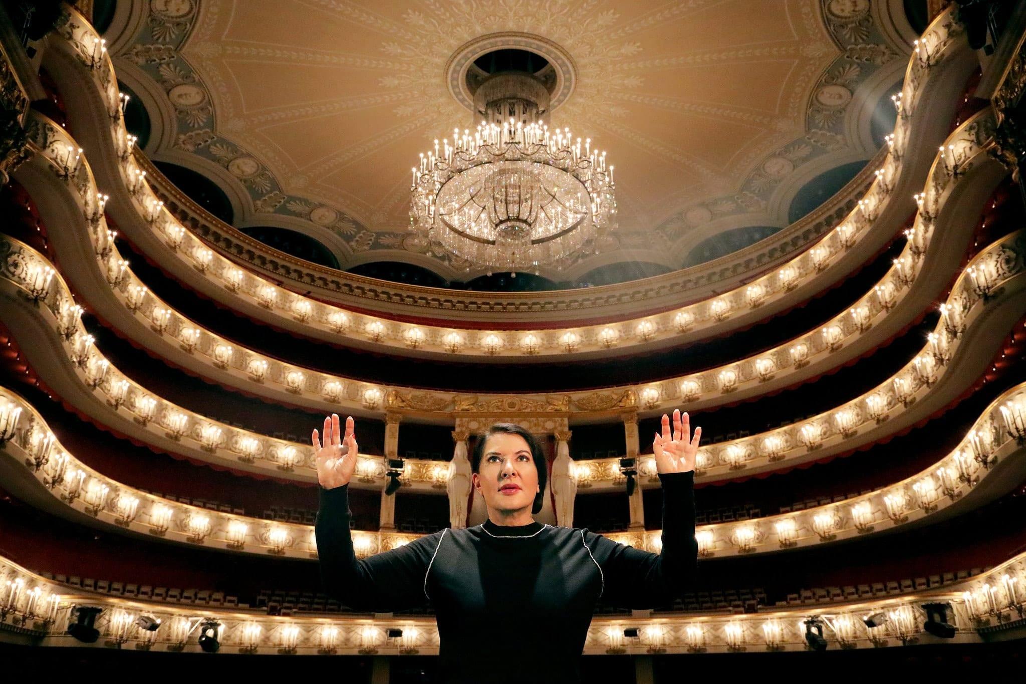 Оперу Марины Абрамович покажут насамых больших экранах вмире