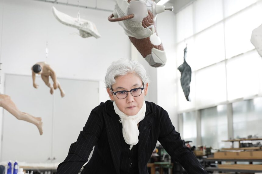 «Утопия спасённая» корейской художницы ЛиБул: выживут только художники