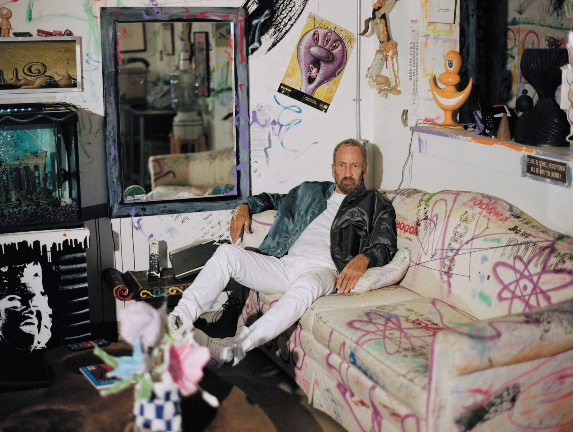 Dior выпустит коллекцию совместно с художником Кенни Шарфом