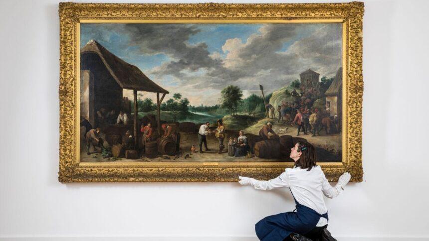 «Урожай вина» Давида Тенирса Младшего возглавит аукцион старых мастеров Sotheby's