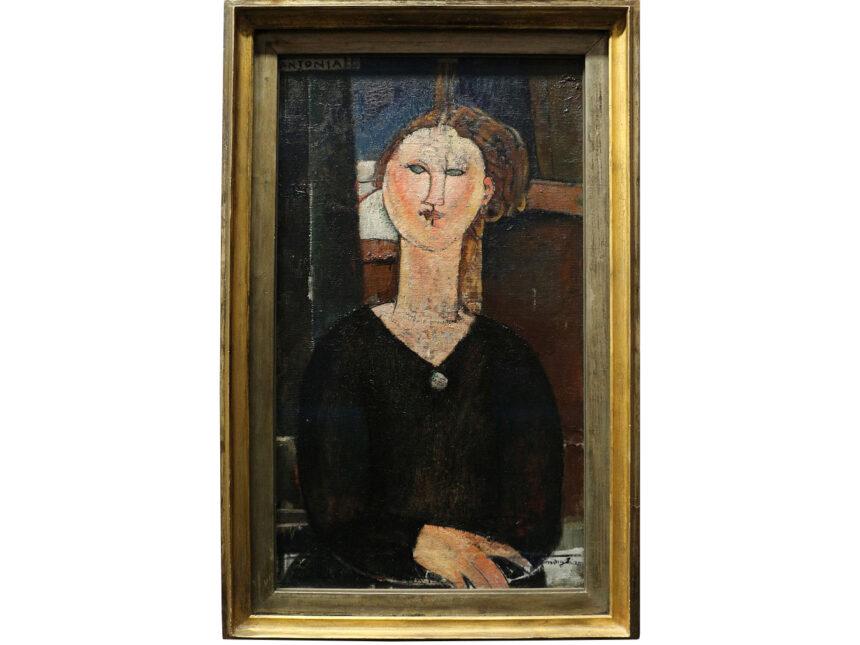 Под слоем краски «Антонии» Модильяни обнаружены четыре других композиции
