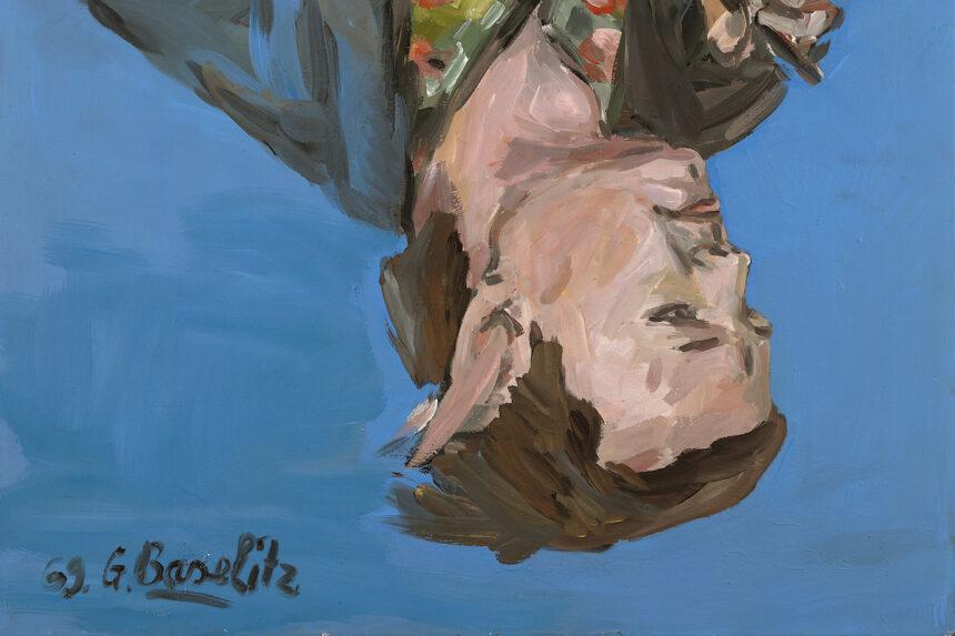 Георг Базелиц подарил Музею Метрополитен шесть картин