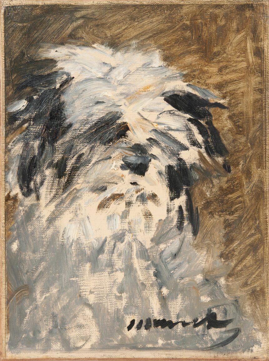 Картину Мане сизображением собаки впервые выставят нааукцион