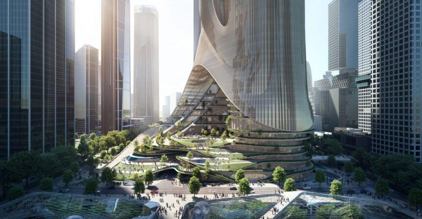 Студия Захи Хадид построит здания вШэньчжэне иГонконге