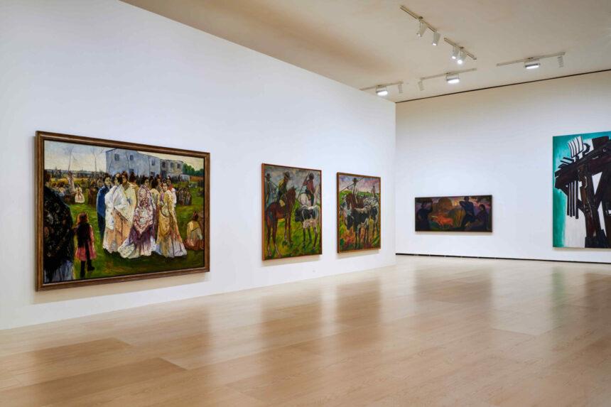 Экскурсия повыставке «Бильбао иживопись» вМузее Гуггенхайма