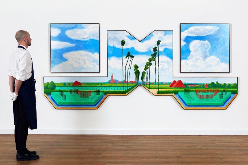 Масштабная работа Дэвида Хокни станет лотом весеннего аукциона Sotheby's