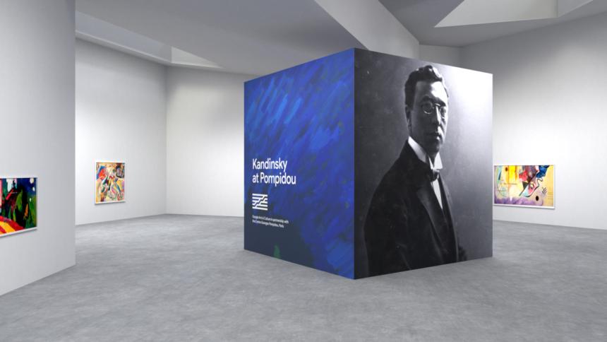 Центр Помпиду иGoogle Arts &Culture озвучили картины Кандинского