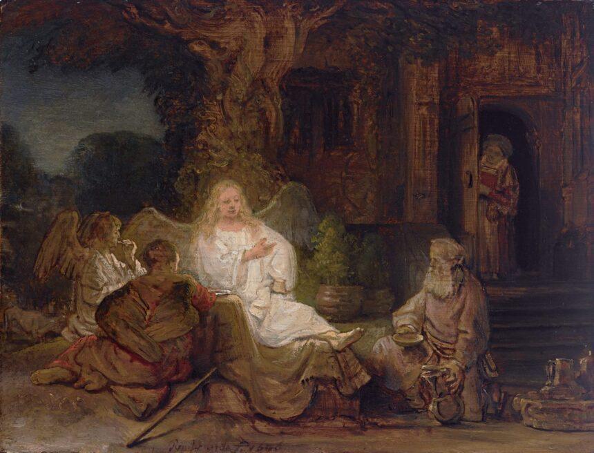 «Авраам иангелы» Рембрандта продали вчастной сделке