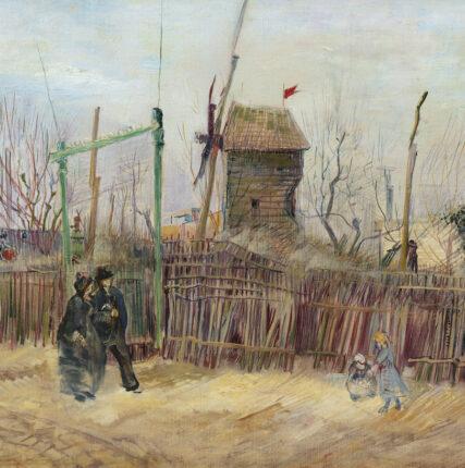 Картину «Уличная сцена наМонмартре» Ван Гога представят широкой публике впервые с1887 года