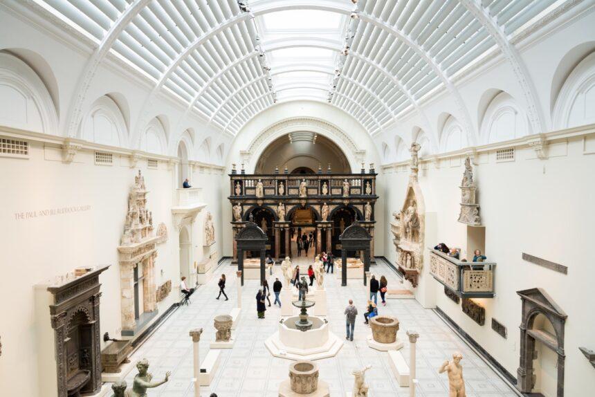 Музей Виктории иАльберта оцифровал более миллиона экспонатов