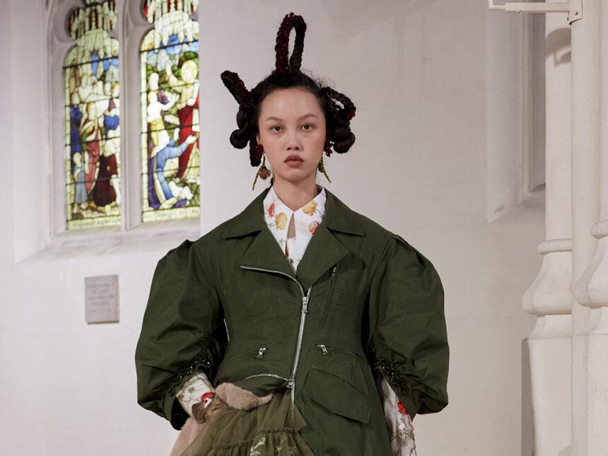 Какую моду выбирает Лондон: Simone Rocha, Erdem, Molly Goddard идругие