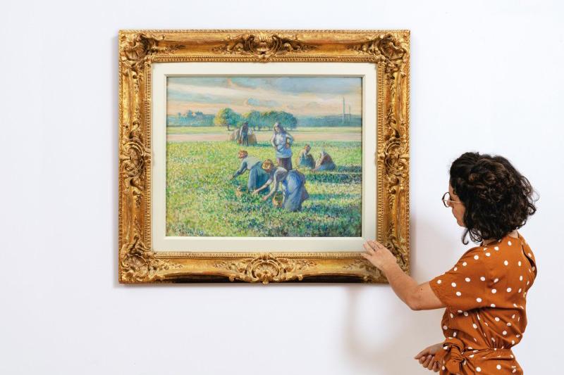 Ван Гог, Писсарро, Дега, Ренуар: Топ-лоты последнего Sotheby's собрали €36,5 млн