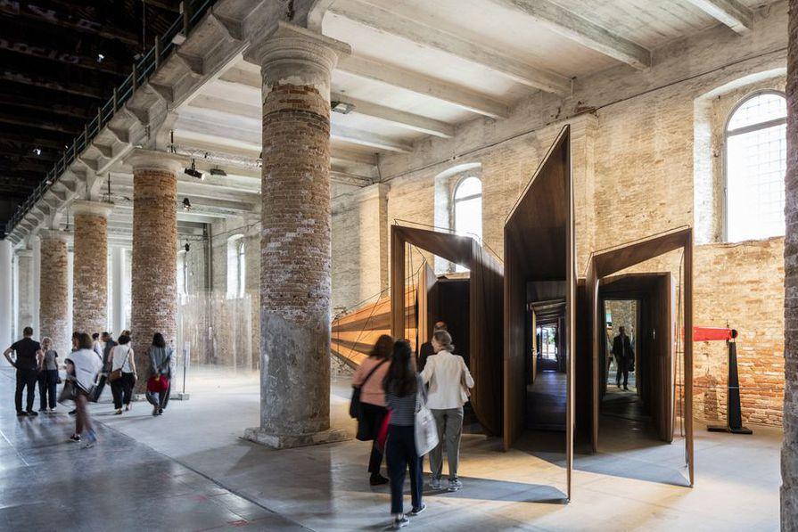 XVII международная Архитектурная биеннале в Венеции