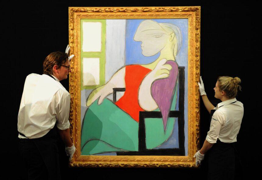 Christie's выставит наторги портрет музы Пикассо стоимостью $55млн.