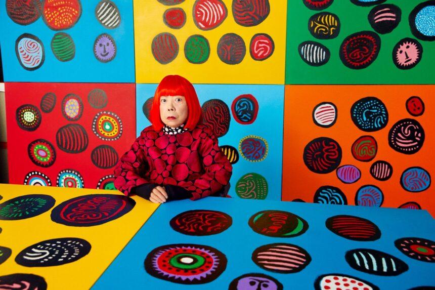В июне публике представят новые картины Яёи Кусамы