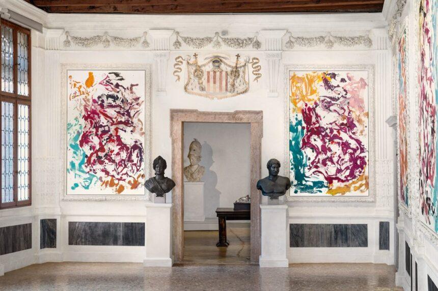 Венецианское палаццо Гримани открылось выставками «Домус Гримани. Зал дожа» и «Георг Базелиц: Арчинто»