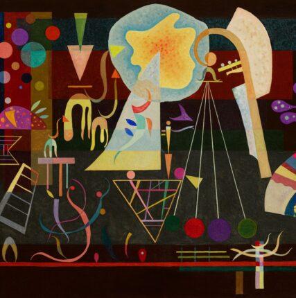 Одна из самых главных картин Кандинского «Умиротворенные напряженности» выставлена на аукцион