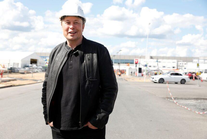 Илон Маск пригласил граффити-художников оформить фасады фабрики Tesla в Германии