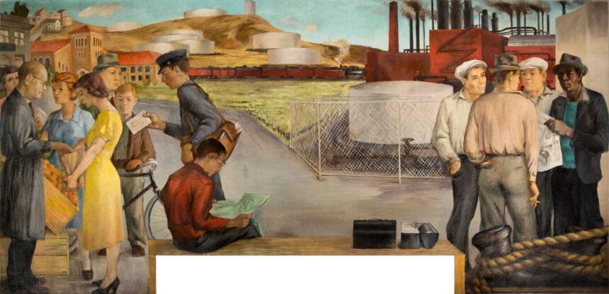 В Ричмонде выставили работу Виктора Арнаутова, считавшуюся пропавшей около 40 лет