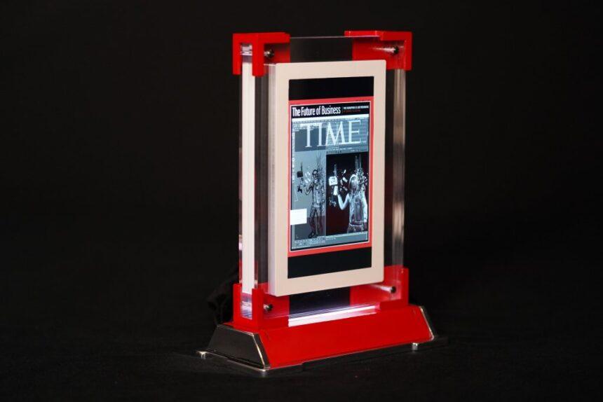 Обложка журнала Time от Beeple в виде NFT продана за $320 тыс.