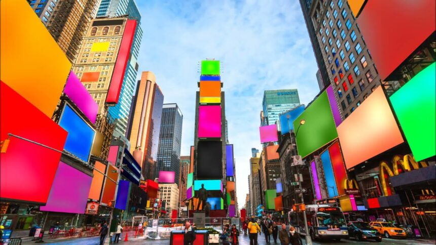 На Таймс-сквер появится инсталляция Козимо Скотуччи, посвященная разнообразию