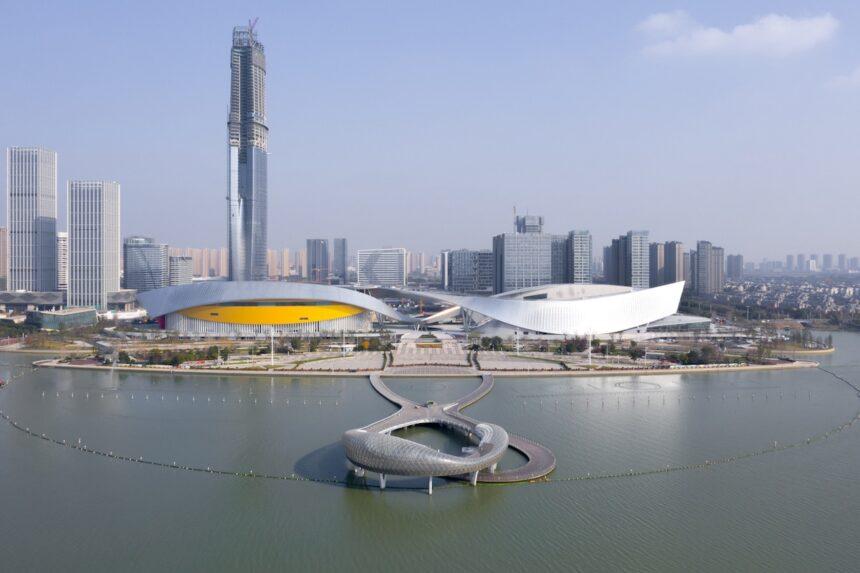 В Сучжоу достроили культурный центр по проекту Кристиана де Портзампарка