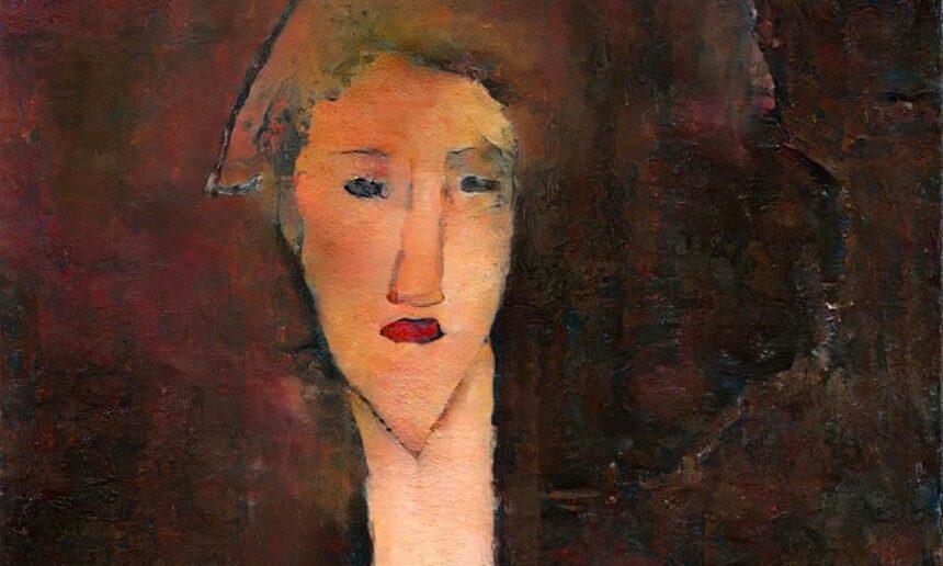 В Лондоне покажут «скрытый» портрет Модильяни, воссозданный искусственным интеллектом