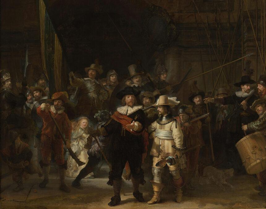 «Ночной дозор» Рембрандта восстановили с помощью искусственного интеллекта