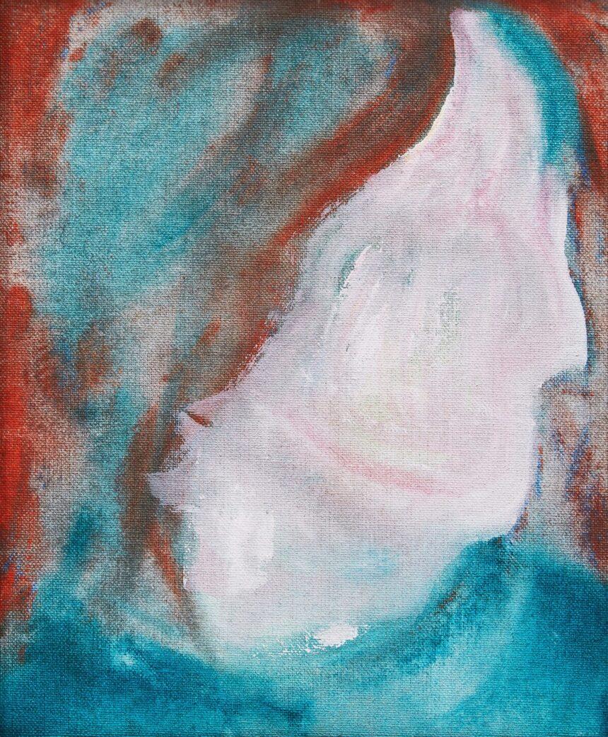 Цена картины Дэвида Боуи, купленной за С$5, достигла С$50 тысяч