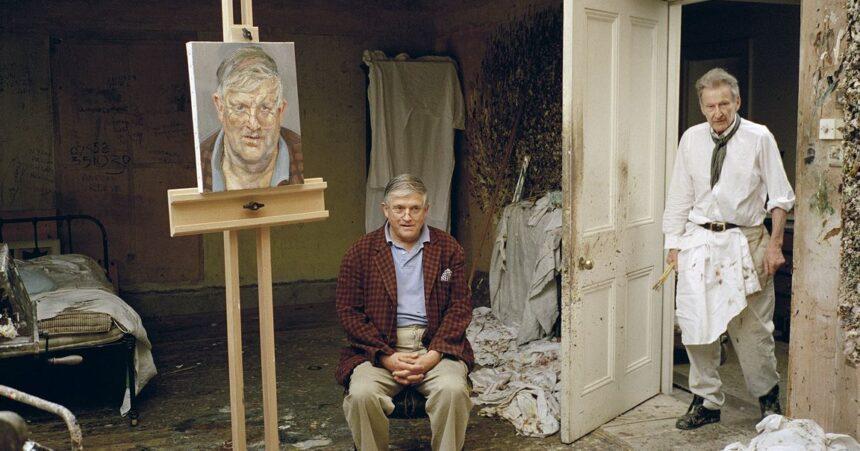 На аукцион выставят портрет Дэвида Хокни работы Люсьена Фрейда