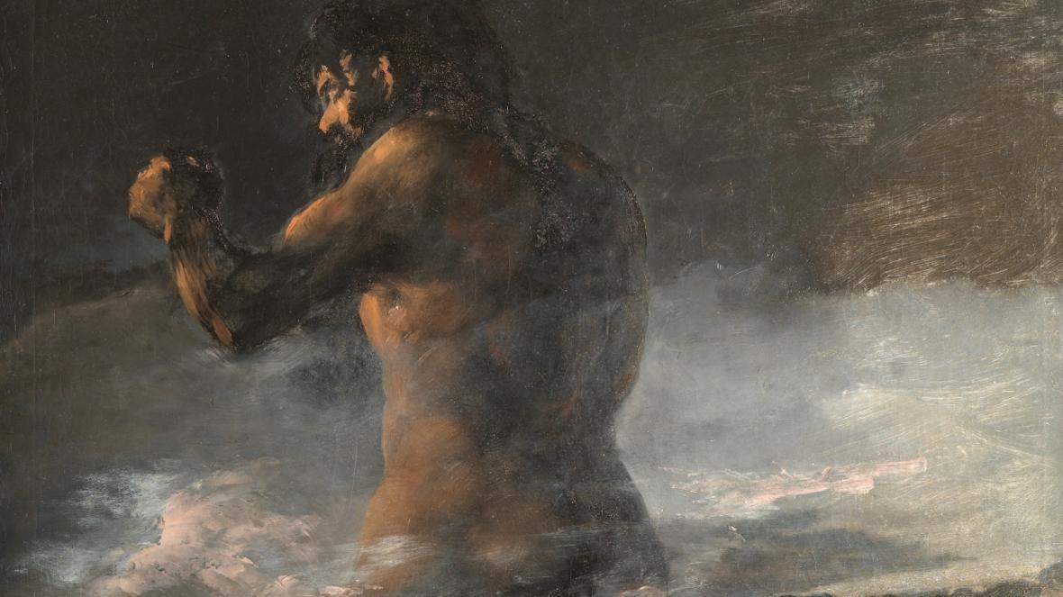 Музей Прадо снова приписывает авторство «Колосса» Франсиско Гойе