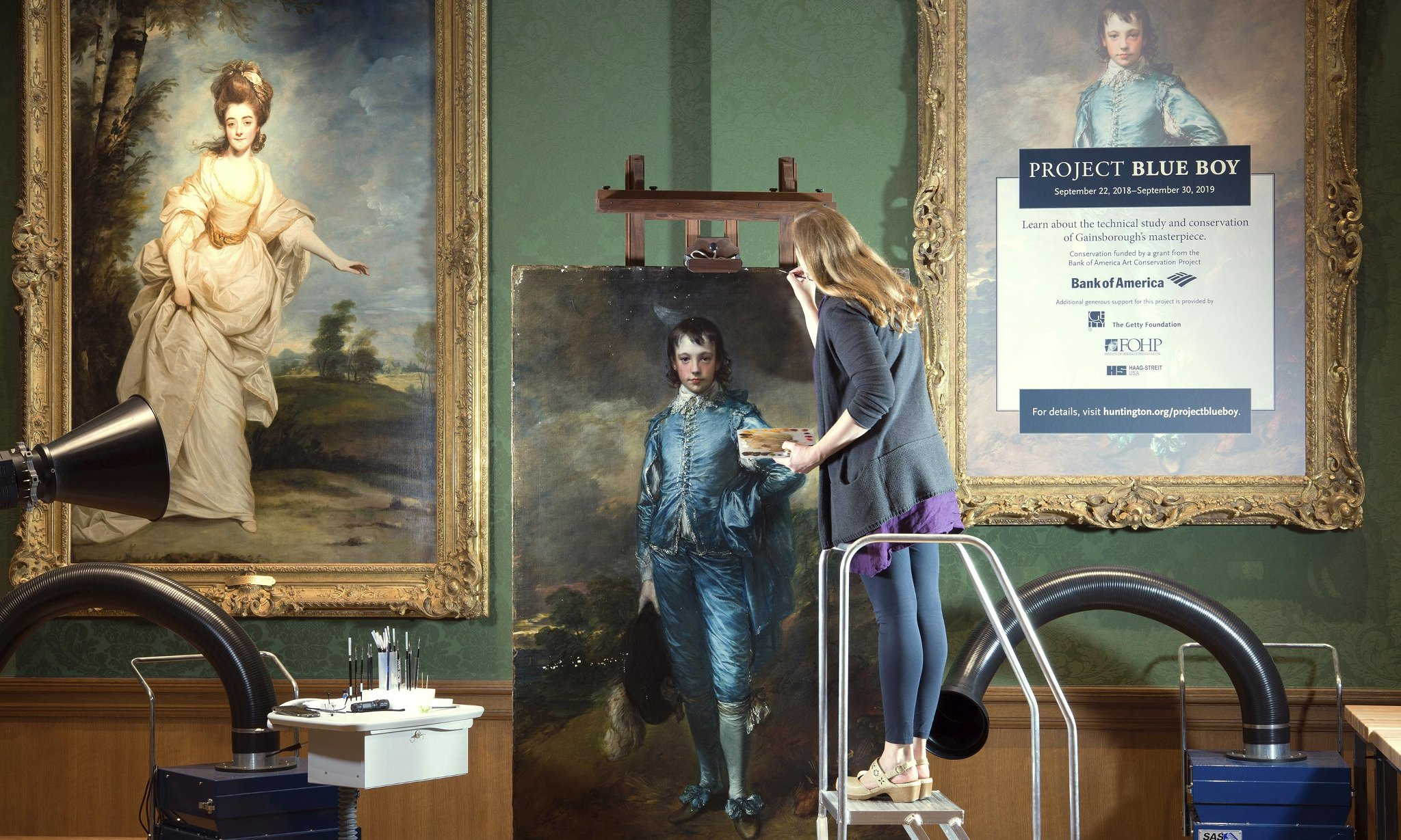 Впервые за 100 лет в Лондоне покажут «Мальчика в голубом» Томаса Гейнсборо